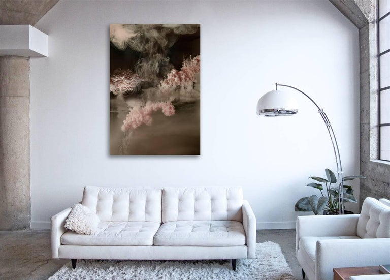 Stratosphere I  - large format photograph of abstract liquid water cloudscapes - Contemporary Print by Christian Stoll