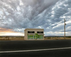 Marfa ( Prada ) - large format photograph of iconic conceptual art installation