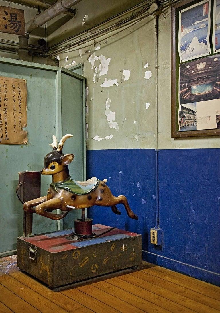 Oh Deer ( Japan ) - photograph in classic archival artwork portfolio gift binder - Photograph by Erik Pawassar