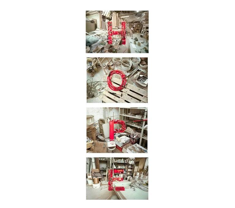 "Christian Stoll Figurative Photograph - HOPE ( 4 artworks 21.6 x 32"" /  framed )"