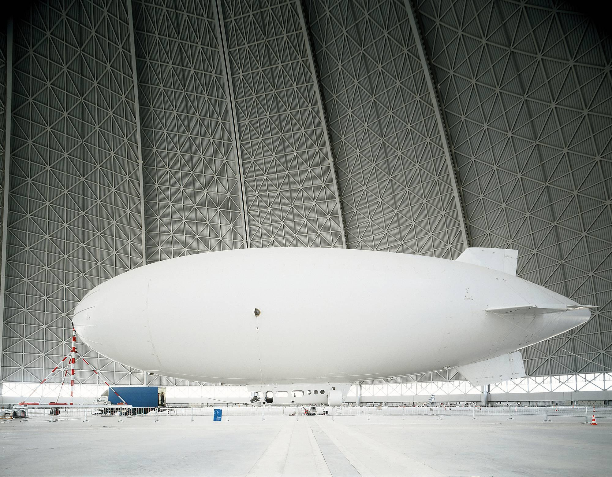 """Zeppelin - monumental photograph of iconic pioneering airship (48"""" x 69"""")"""