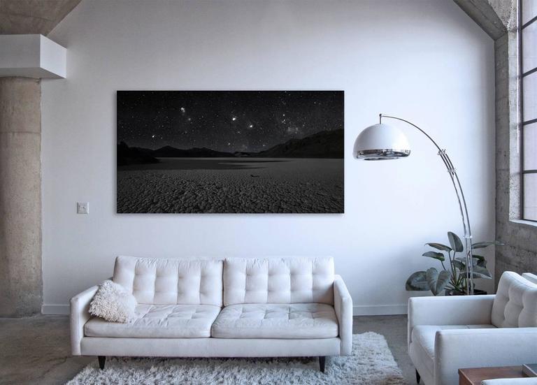 Racetrack  - large scale desert landscape panorama under mesmerizing night sky - Print by Frank Schott