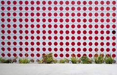 LA Parking - large scale photograph of midcentury urban architectural element