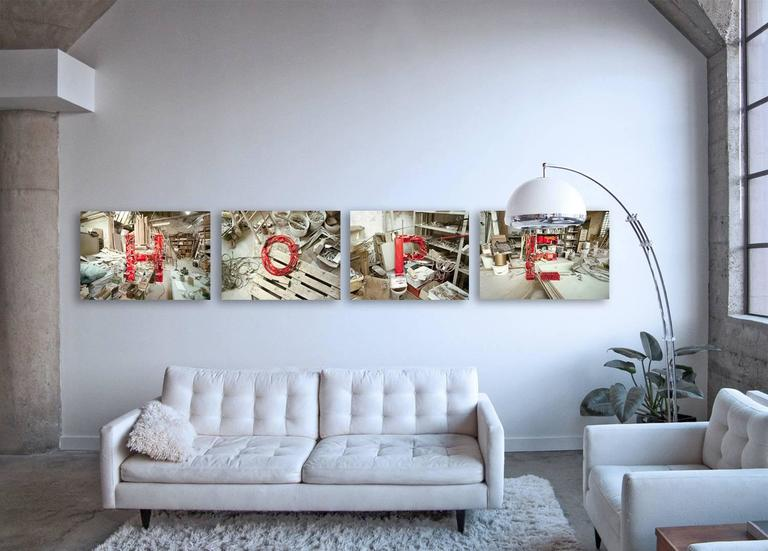 HOPE ( 4 Artworks 21.6 x 32