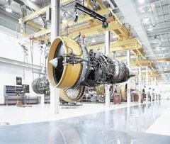 Turbine - large scale photograph of iconic aerospace location