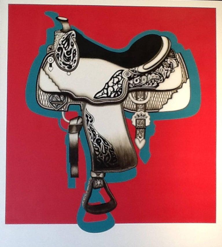 Saddle - Art by Yelena York