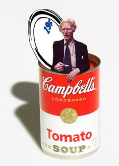 Andy Warhol Tomato Soup Can