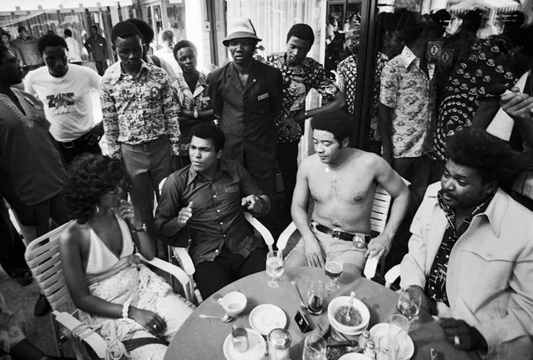 Lynn Goldsmith Black and White Photograph - Ali & Bill Withers