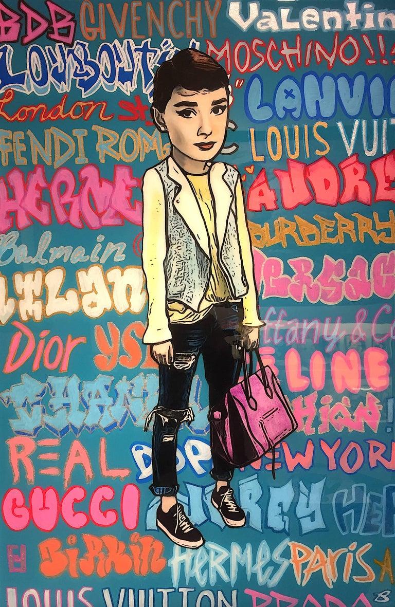 The Producer BDB Portrait Painting - Audrey