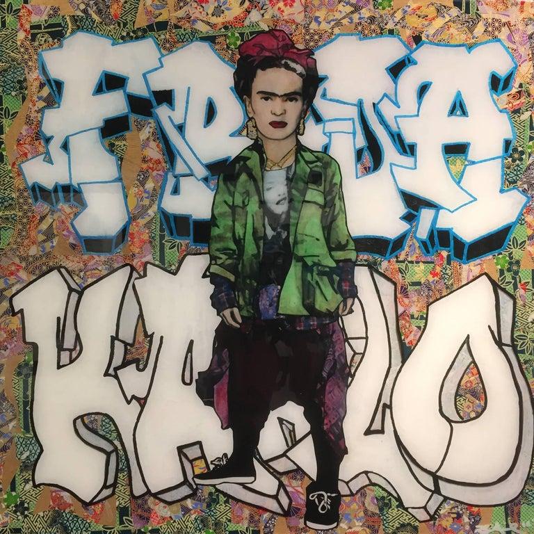 The Producer BDB Portrait Painting - Frida