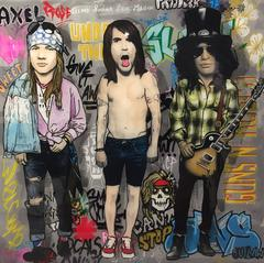 Axl, Kiedis, and Slash