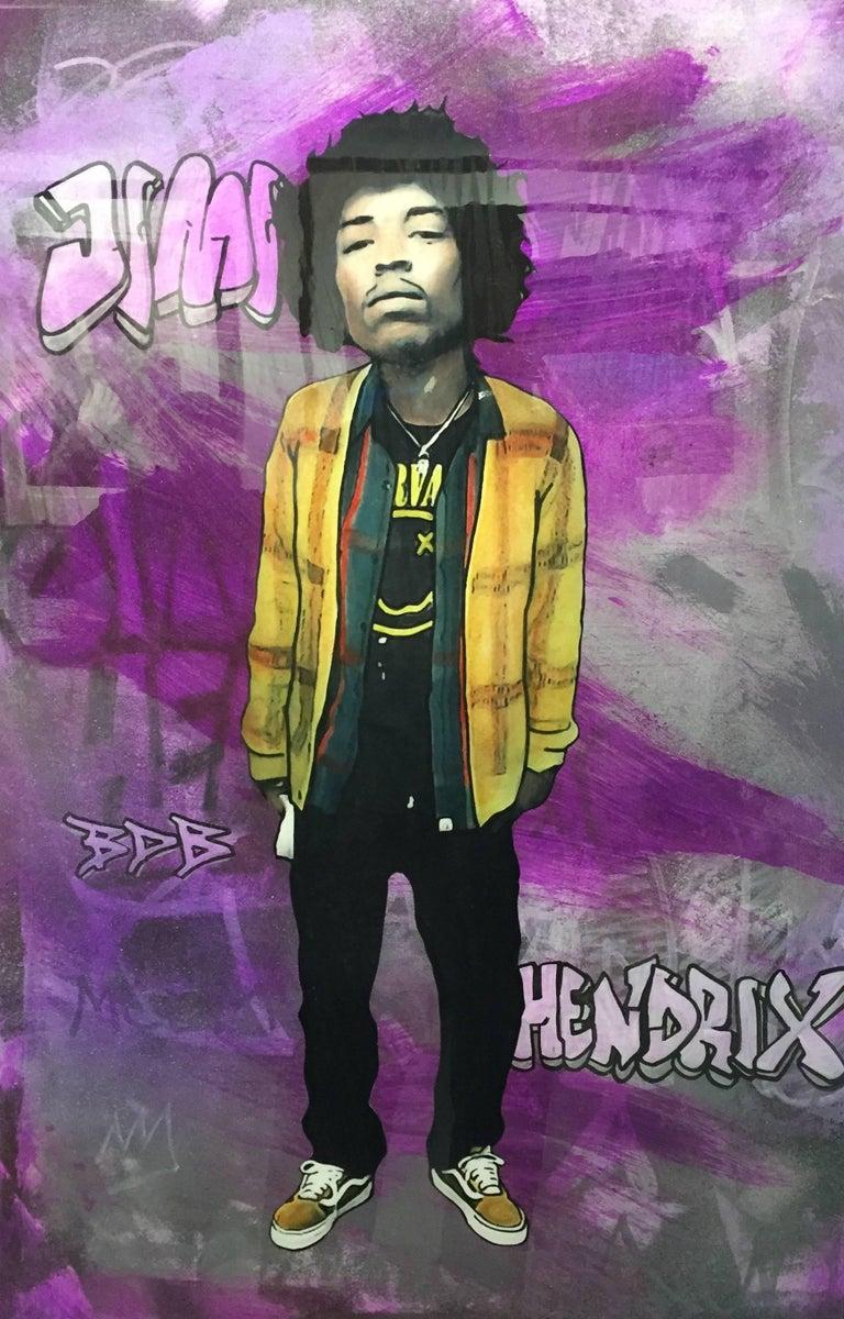 The Producer BDB Portrait Painting - Jimi