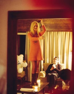 Bridget Bardot on Table, 1967