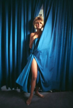 Bridgette Bardot, Blue Curtains