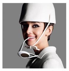 Audrey Hepburn, Glasses Side 1965