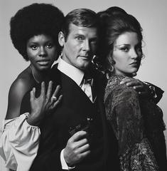 Gloria Hendry - Roger Moore - Jane Seymour 1973