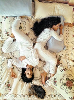 Prince and Mayte in Bed, 1999