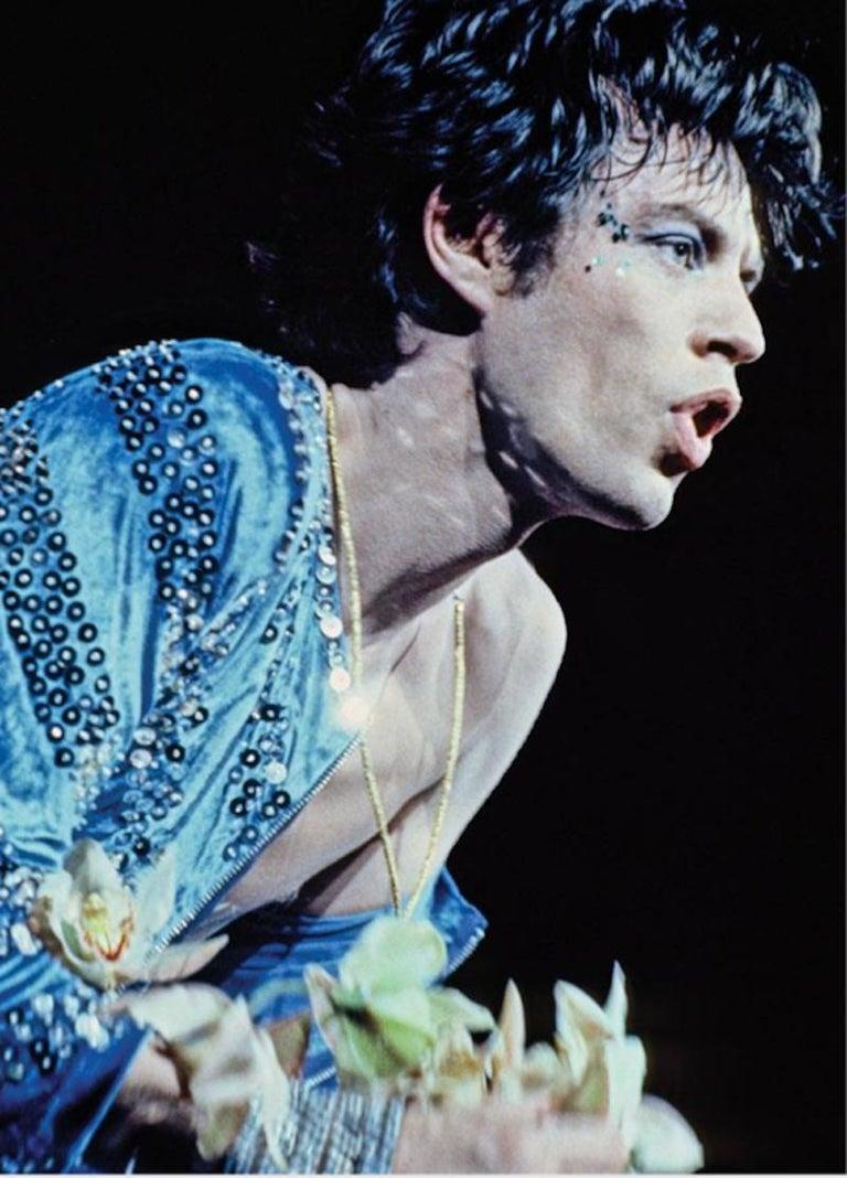 Lynn Goldsmith Color Photograph - Mick Jagger