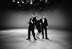Dean Martin, Judy Garland, Frank Sinatra 1961