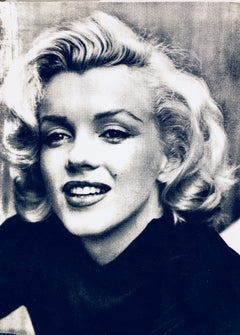 Marilyn Smile Noir et Blanc (Diamond Dust)