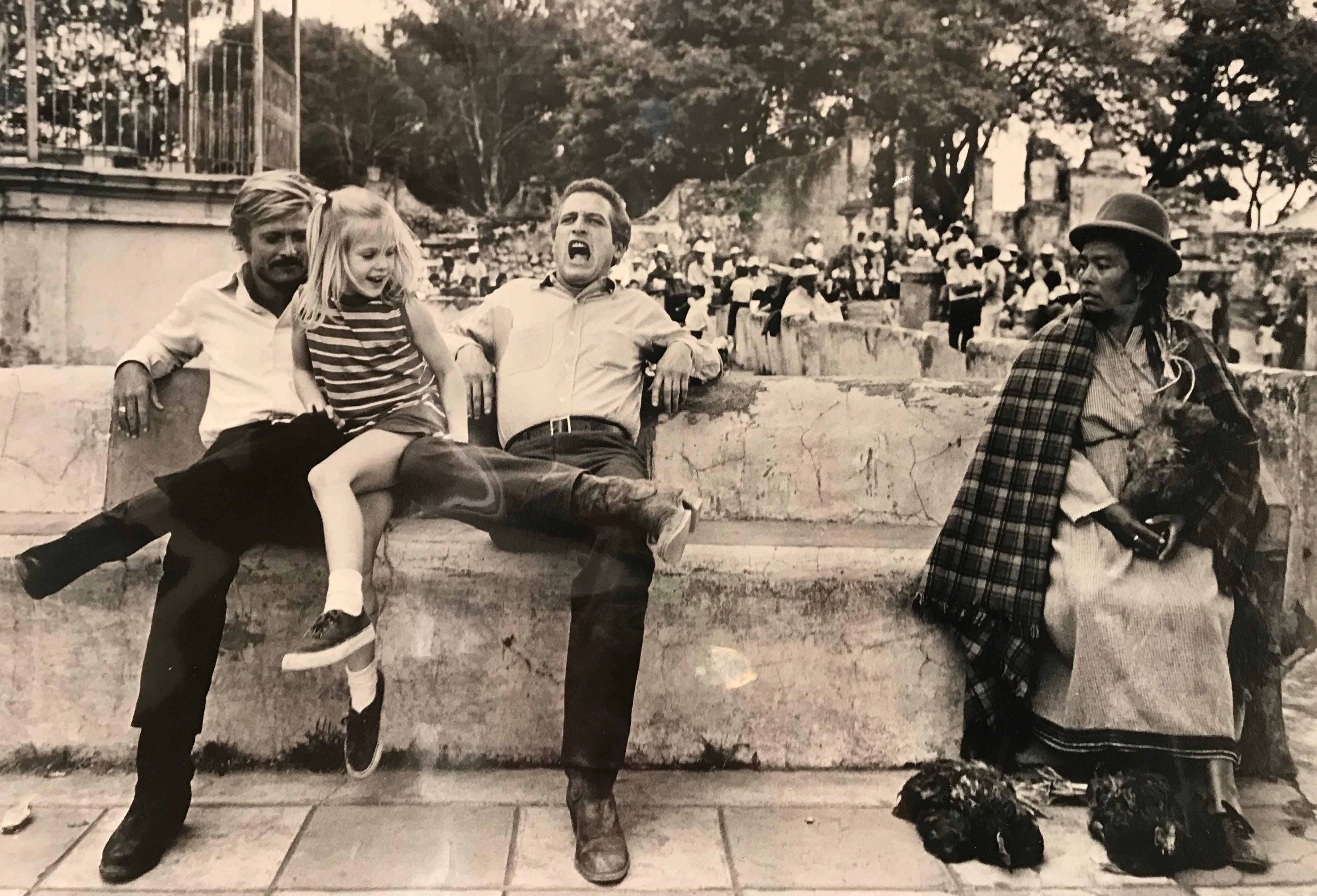Paul Newman & Robert Redford - Newman's Daughter