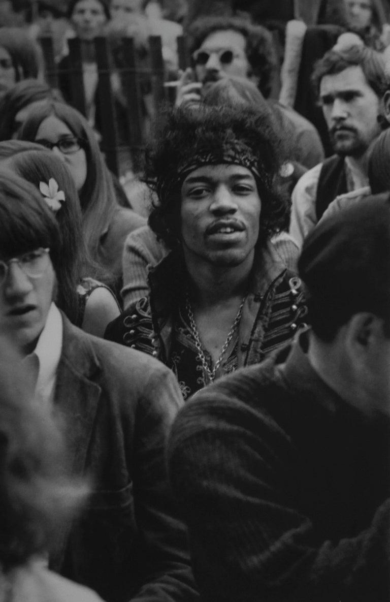 Colin Beard Black and White Photograph -  Jimi Hendrix