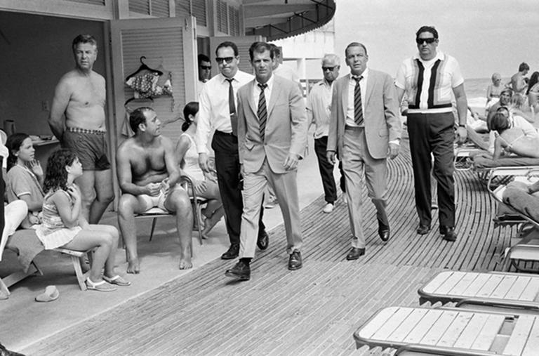 Frank Sinatra On The Boardwalk, Miami