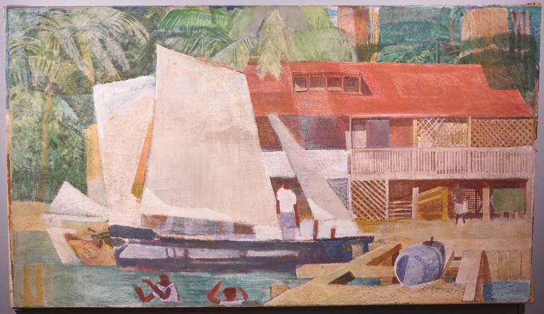 Vella Lavella - Painting by George Mathews Harding