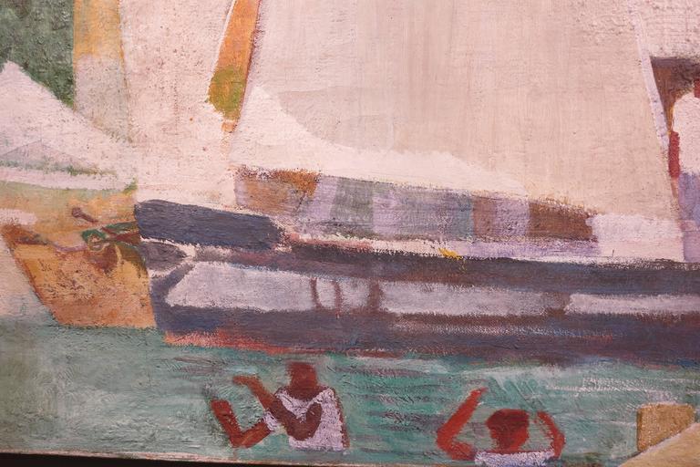 Vella Lavella - American Modern Painting by George Mathews Harding