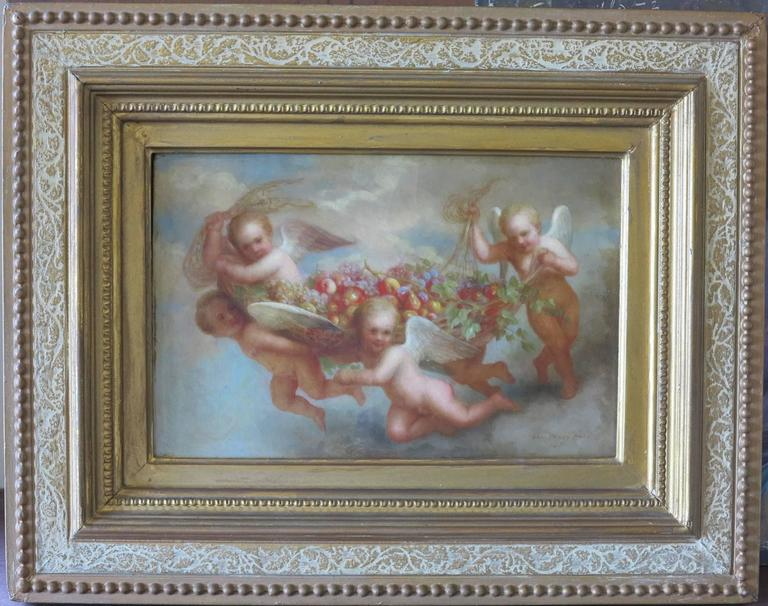 Cherubs - Painting by George Henry Hall