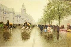 Rainy Day, Paris Street