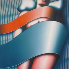 Sleeper (Large Post-Modern Female Nude)