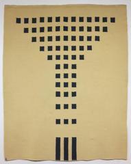 Mackintosh Chair (Minimalist Bauhaus wall hanging textile art)