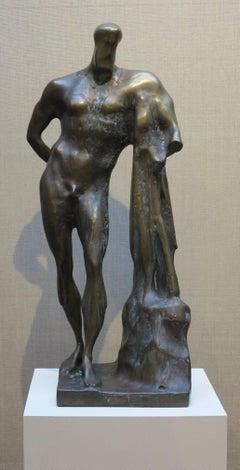 Standing Nude Male Figure (Farnese Hercules)