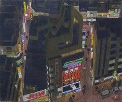 Shinjuku Pleasure District, Tokyo (Japan cityscape)