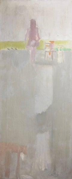Woman Reading, Los Angeles Studio