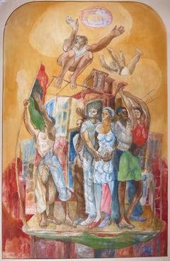 The People (Urban African-American Afrofuturism Landscape)