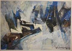 Mountain Landscape (cubist landscape)