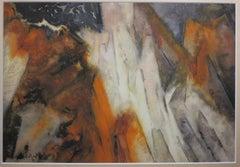 Mountain Landscape (Abstract Landscape)