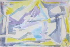 Composition (Abstract Expressionist mid-century gestural action painting)