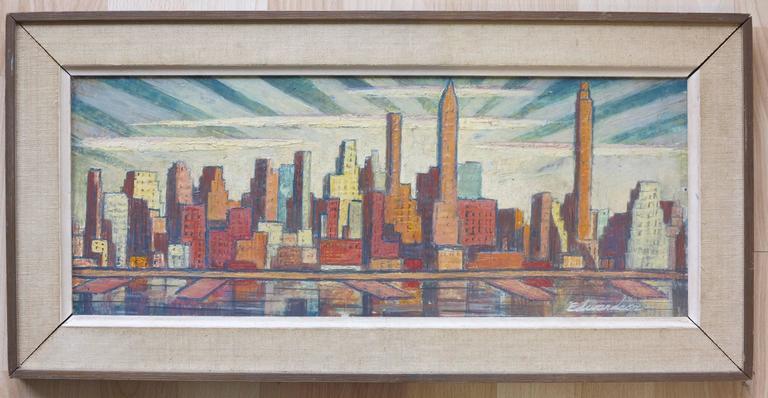 Skyline - Painting by Laurence Edwardson