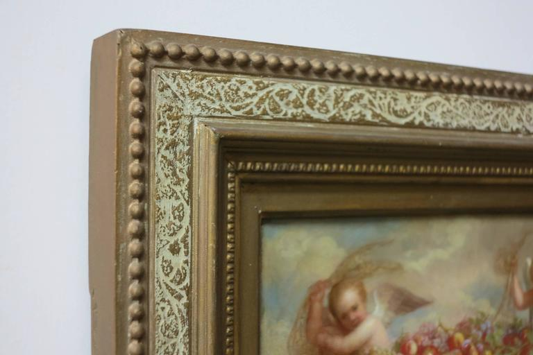 Cherubs - Realist Painting by George Henry Hall