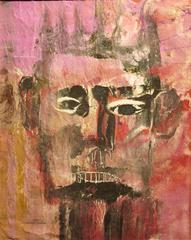 Man with Crown (Expressionist male portrait)