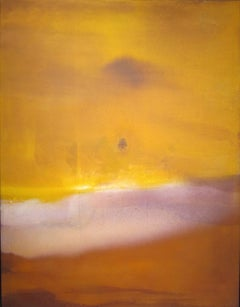 Zanzibar, 1971 (Abstract Expressionist colorfield painting)