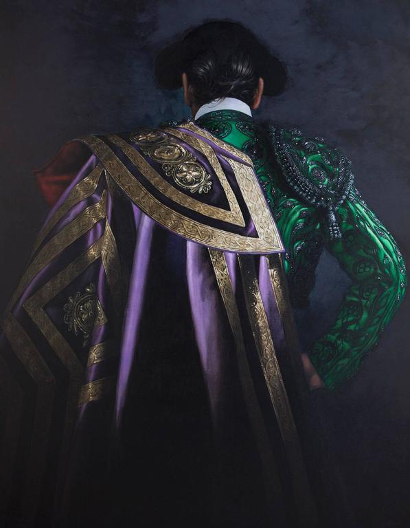 Matador in Emerald and Violet