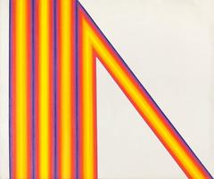 Untitled - Yellow, Orange, Purple