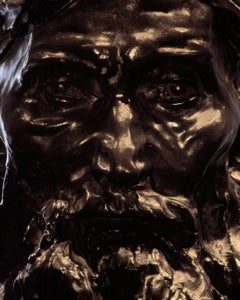 F003, French, Bronze - Close-Up Photograph of a Bronze Sculpture by Rodin
