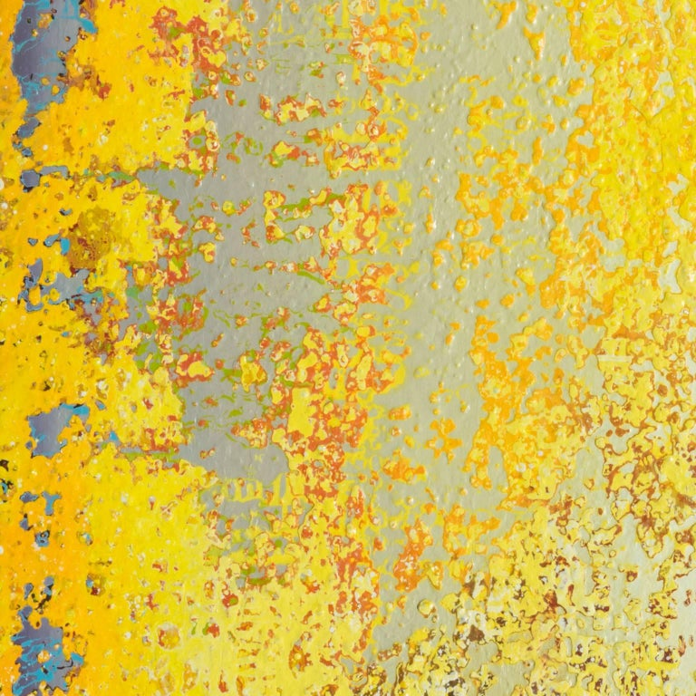 One Fine Morning - Brown Abstract Painting by Heidi Thompson
