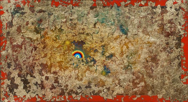 Gian Berto Vanni Abstract Painting - Rising Sun