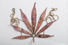 Chestnut leaf necklace